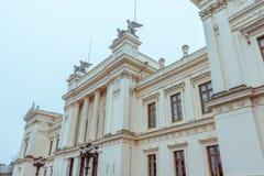 Здание университета Лунда главное Стоковое Изображение RF