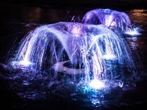Здание фонтана внешнее в городе Стоковые Фотографии RF