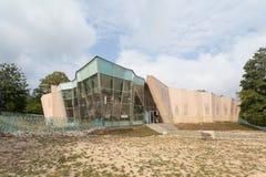 Здание центра для посетителей парка Didiani Стоковое фото RF
