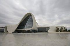 Здание центра Heydar Aliyev Стоковое Изображение