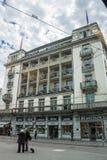 Здание Цюриха Швейцарии историческое Стоковая Фотография RF