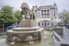 Здание Цюриха Швейцарии историческое Стоковые Фотографии RF