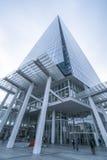 Здание черепка в съемке Лондона широкоформатной стоковое фото