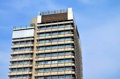 Здание Abandonend в Берлине Стоковое Изображение RF