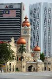 Здание Abdul Samad султана Стоковое Изображение