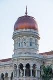 Здание Abdul Samad султана около квадрата Merdeka в Малайзии Стоковая Фотография