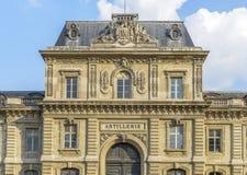 Здание Artillerie в Париже Стоковое фото RF