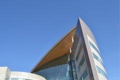 Здание Atradius, залив Кардиффа. Уэльс Стоковое Изображение RF