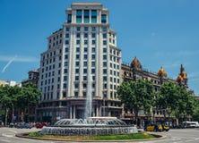 здание barcelona Стоковая Фотография RF