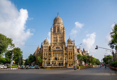 Здание BMC муниципальное в городе Мумбая, стоковое изображение