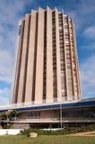 Здание Caixa Economica федеральное стоковые фото