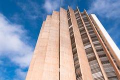 Здание Caixa Economica федеральное стоковое изображение