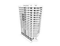 здание 3d Стоковое Изображение