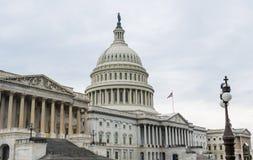 Здание DC Captiol Вашингтона Стоковая Фотография