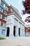 Здание Hall в коллеже Стоковая Фотография