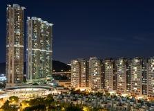 здание Hong Kong селитебное Стоковое Изображение RF