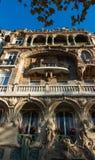 Здание Lavirotte, Париж, Франция Стоковые Фотографии RF