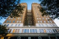 Здание Nissen, в городском Уинстон-Сейлем, Северная Каролина Стоковое Фото