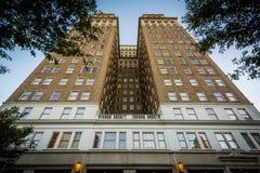 Здание Nissen, в городском Уинстон-Сейлем, Северная Каролина Стоковые Изображения RF