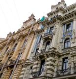 Здание Nouveau искусства стоковое фото rf
