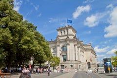 Здание Parlaiment в Берлине Германии Стоковое Изображение RF