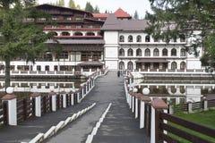 Здание Poiana Brasov Румыния стоковая фотография rf