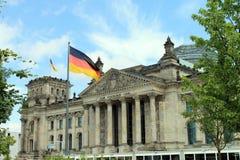Здание Reichstag в Берлине. Стоковое Фото