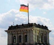 Здание Reichstag в Берлине. Стоковые Изображения