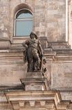 Здание Reichstag в Берлине Стоковые Фотографии RF