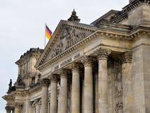 Здание Reichstag Стоковые Изображения