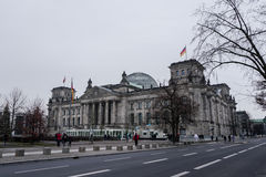 Здание Reichstag Стоковые Изображения RF