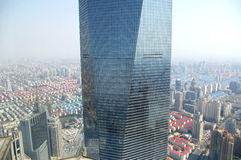 здание shanghai самый высокорослый Стоковое Фото