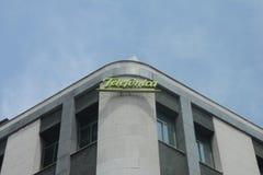 Здание Telefonica Стоковые Изображения