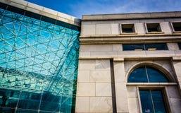 Здание Thurgood Marshall федеральное судебное в Вашингтоне, стоковое фото