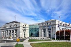 Здание Thurgood Marshall федеральное судебное в DC стоковое фото