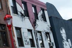 Здание Zipperhead на южной улице Филадельфии Стоковое Фото
