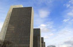 4 здания агенства пронумеровали 1-4, комплект в площади Имперского штата, Albany, Нью-Йорк, 2017 Стоковые Фотографии RF