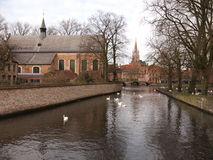 Здания (Брюгге, Бельгия) Стоковое фото RF