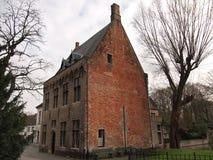 Здания (Брюгге, Бельгия) Стоковое Фото