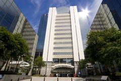 здания высокотехнологичные Стоковое фото RF