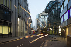 Здания в городе Лондона Стоковые Изображения RF