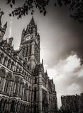 Здания в Манчестере, Англии Стоковое Изображение