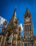 Здания в Манчестере, Англии Стоковая Фотография