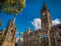 Здания в Манчестере, Англии Стоковое Фото