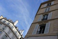 Здания в Париже Стоковое Изображение RF