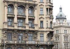 2 здания в Праге в чехии Стоковая Фотография RF