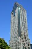 Здания в районе Монреаля международном Стоковое Изображение