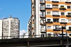 Здания в Сан-Паулу Стоковое Изображение