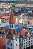 Здания в центре города Мюнхена Стоковая Фотография