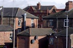 Здания в Levenshulme Манчестере Англии Европе Стоковые Фото